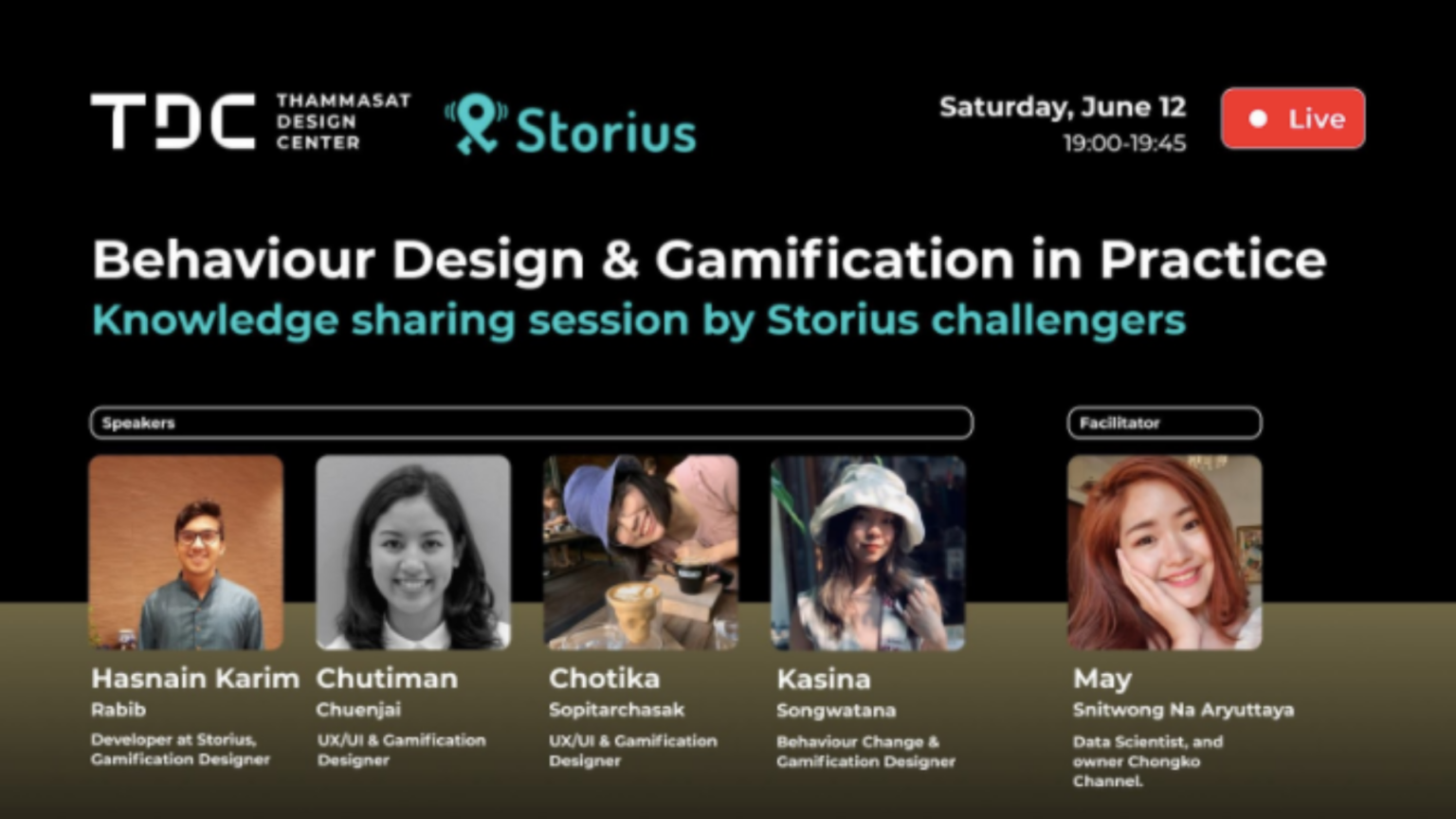 Behaviour Design & Gamification in Practice Live Talk